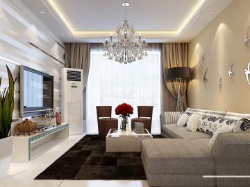 海棠公馆139现代简约设计效果图