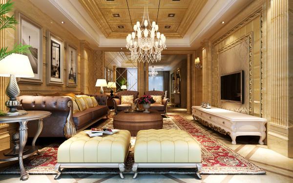经典欧式风格客厅
