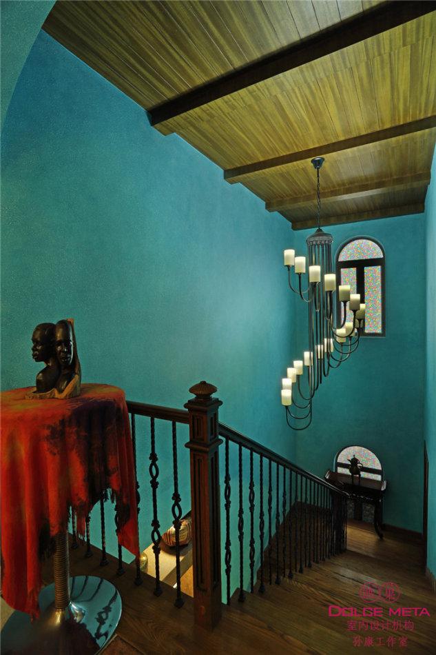 楼梯图片来自成都业之峰装修小管家在雅居乐托斯卡纳别墅案例的分享