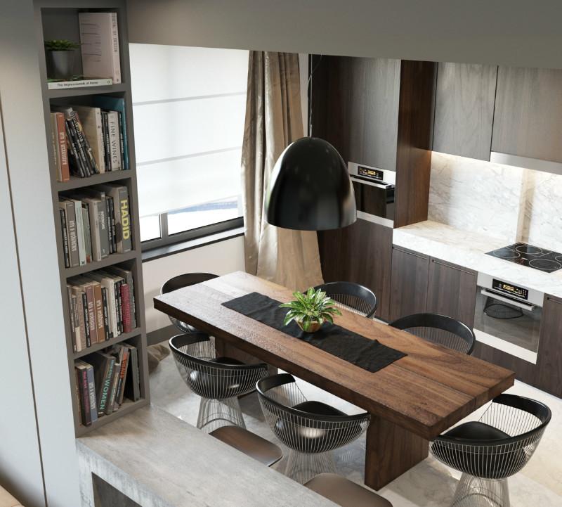 时尚简约 别墅设计 别墅装修 简约 餐厅图片来自别墅装修设计--Hy在时尚简约的分享