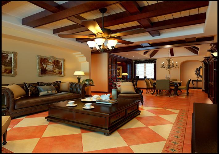 客厅图片来自百家装饰-小李在中海明珠 195 新古典风格的分享