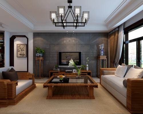 三居 白领 80后 小资 客厅图片来自shanshui在万科蓝山130平中式的分享