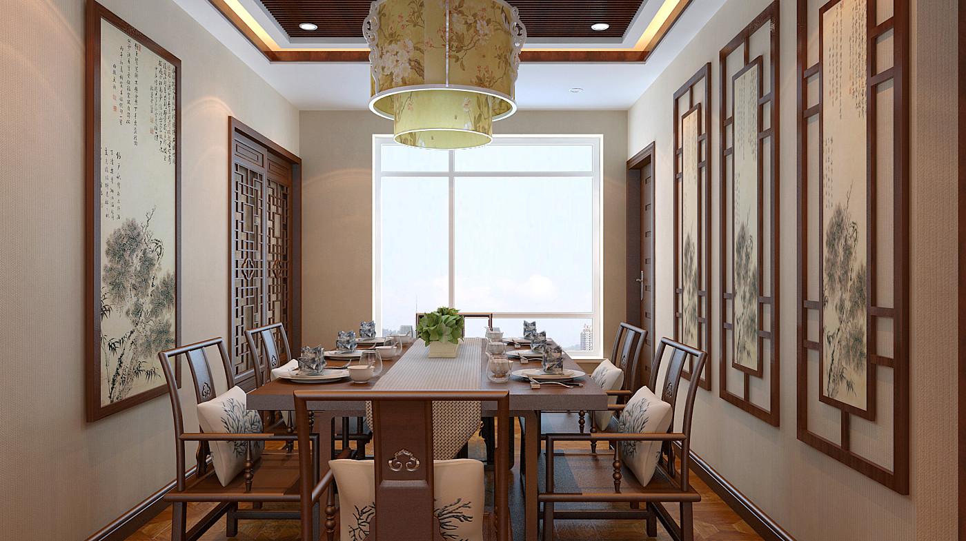 中式 简约 三居 白领 80后 小资 收纳 餐厅图片来自百家装饰-小敬在中铁梧桐苑的分享