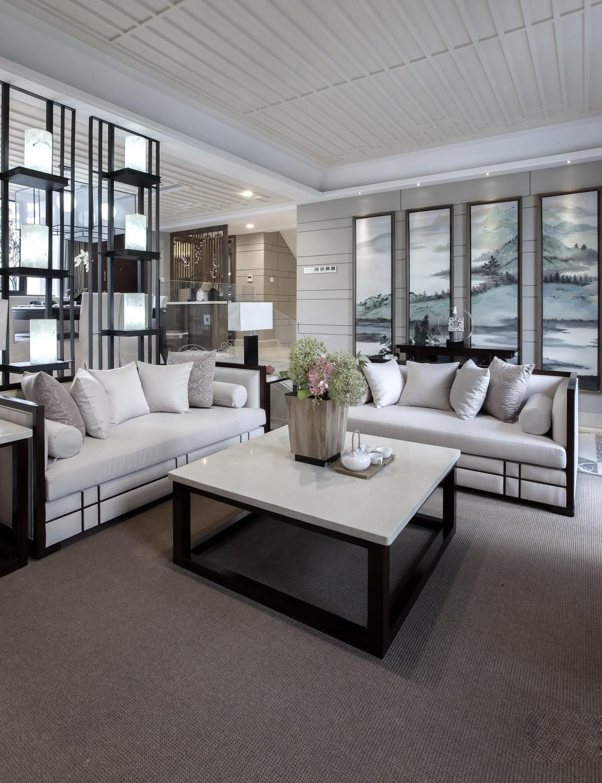 卧室图片来自苹果装饰公司在南山苏迪亚诺独栋别墅 中式风格的分享