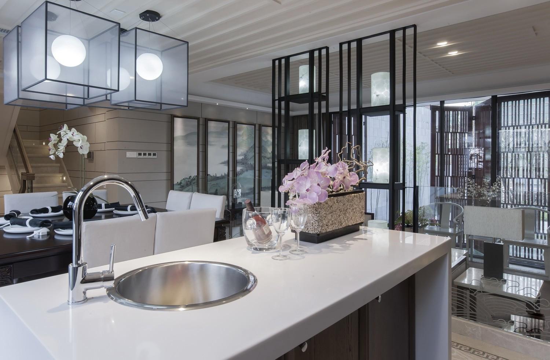 厨房图片来自苹果装饰公司在南山苏迪亚诺独栋别墅 中式风格的分享