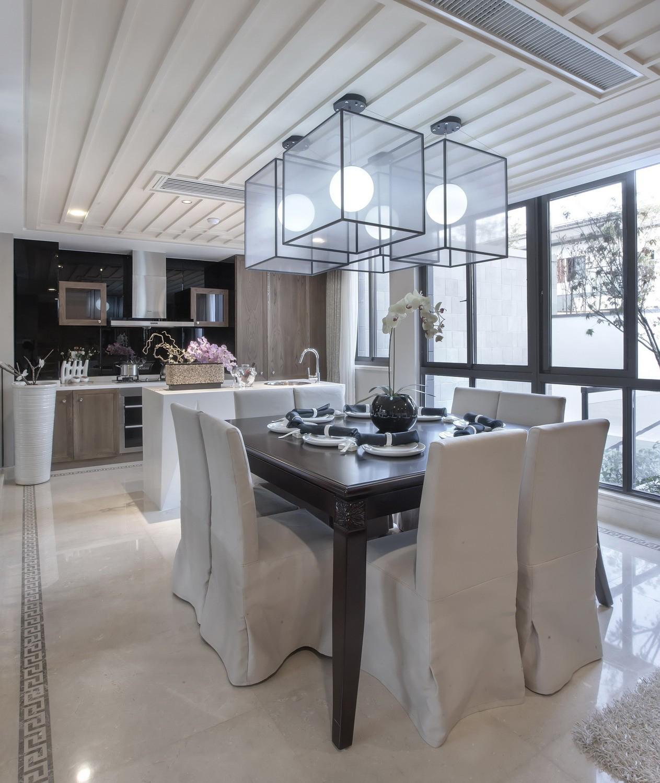 餐厅图片来自苹果装饰公司在南山苏迪亚诺独栋别墅 中式风格的分享