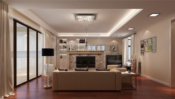 客厅 仁和春天花园145平米怎么装修