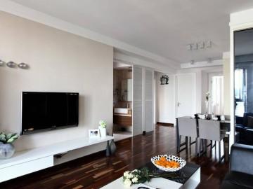 亲亲家园90平现代简约两居室