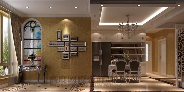 龙城一号怎么装修顶跃200平米怎么装修—简欧风格 餐厅