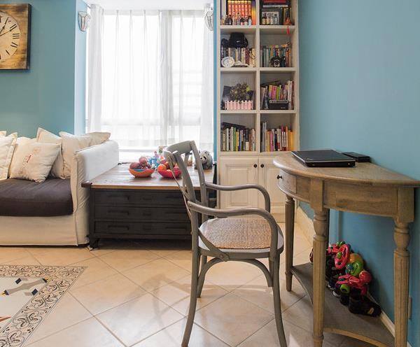 书房位于客厅一角