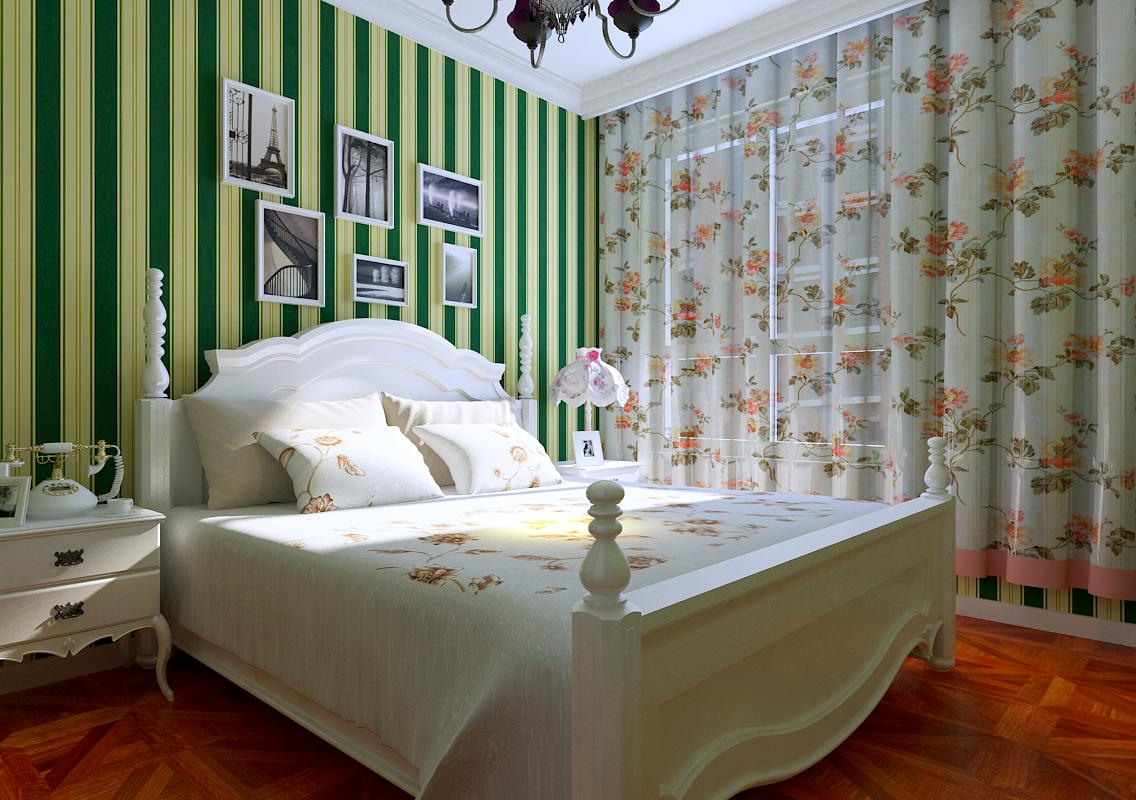 复式、半包 卧室图片来自百家装饰杨乐乐在泰荣湾的分享