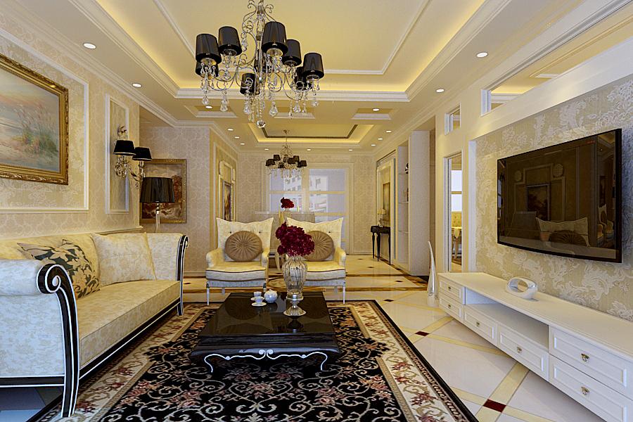 客厅图片来自半岛e家小刘在现代简约风的分享