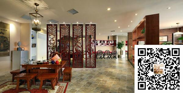 中式客厅装修实景照片