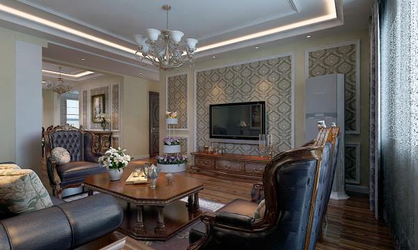 本案为145平的住宅空间,房主要求简单大气,用简易的造型烘托后期家具的优雅,以美式家具的形式体现房主的品味及格调。