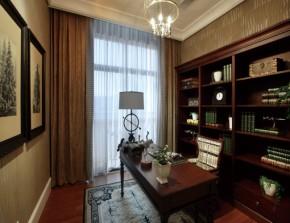 三室 美式 优雅 温馨 时尚 书房图片来自青岛德瑞意家装饰郭欣在【美式风格】卓尔不凡的美式体验的分享