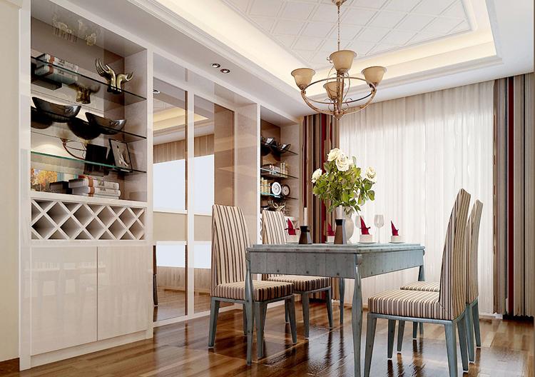 餐厅图片来自百家装饰-小李在克莱斯特120平田园风格的分享