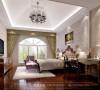 欧式风格三室两厅两卫花园洋房