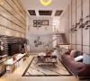 欧洲新城124平现代简约二居室
