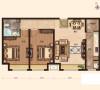 科艺隆-瞰海品筑-中式风格-94平