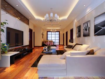 医大四院家属楼150平现代风格