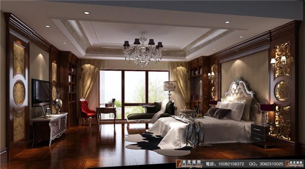 龙湖悠山郡卧室细节效果图-成都高度国际装饰