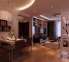 80平米怡林名门现代简约设计案例