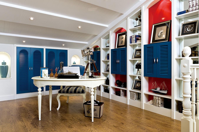 三居 客厅 卧室 厨房 餐厅 地中海风格 装修设计图片来自川豪装饰合肥分公司在浓情夏日地中海风格装修设计的分享