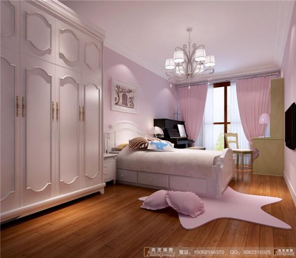 中德英伦联邦儿童房细节效果图-成都高度国际装饰