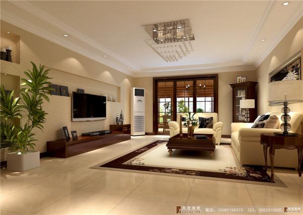 中德英伦联邦客厅细节效果图-成都高度国际装饰