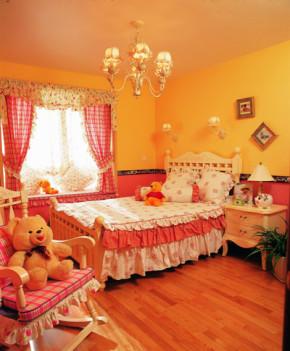 田园 温馨 二居 卧室图片来自第壹家园装饰在94平温馨田园的分享