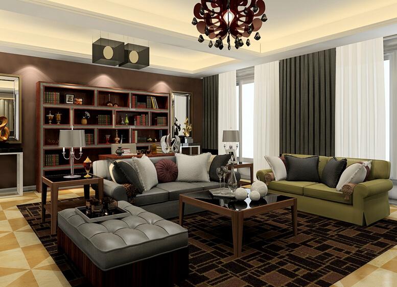 挪威月色 现代欧式 三室 客厅图片来自cdxblzs在挪威月色  现代欧式 三室的分享