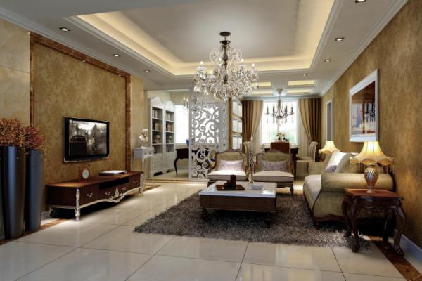 北新瑞苑 120平米 现代欧式 三室