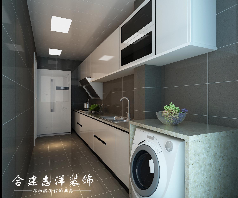 二居 简约 厨房图片来自贾凤娇在北京合建装饰建邦华庭89平的分享