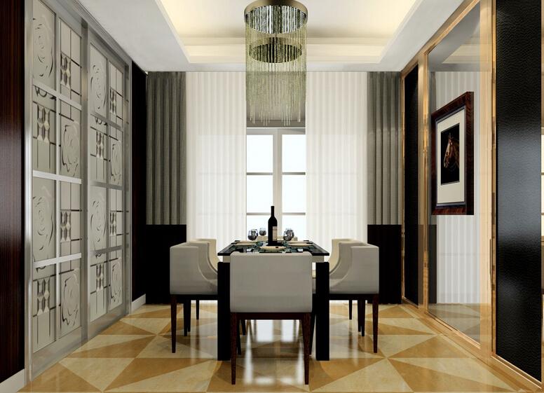 挪威月色 现代欧式 三室 餐厅图片来自cdxblzs在挪威月色  现代欧式 三室的分享