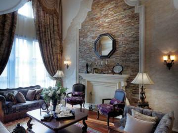 鹭湖宫 450平米 法式风格 别墅