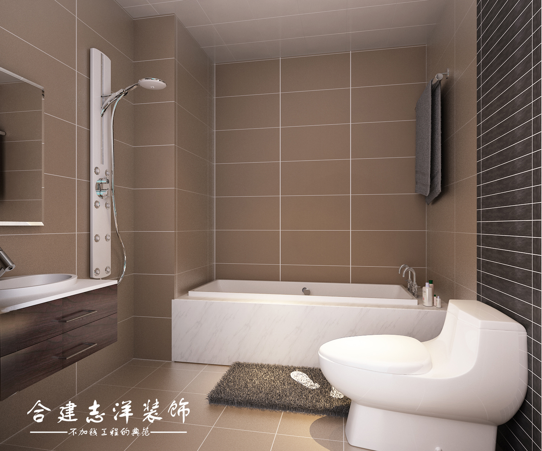 二居 简约 卫生间图片来自贾凤娇在北京合建装饰建邦华庭89平的分享