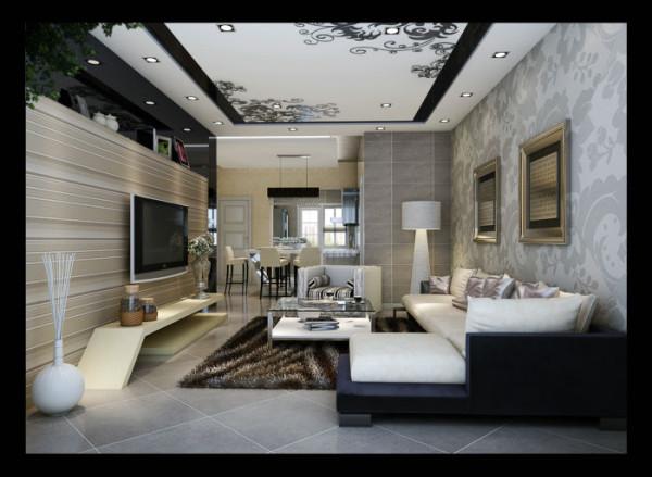 水韵金沙 120平米 现代简约 三室