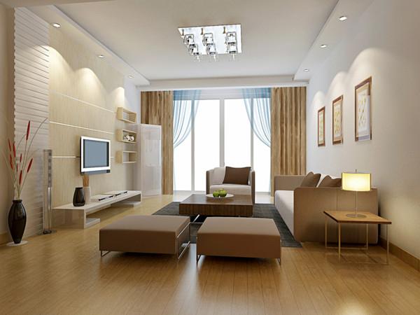 客厅要实用,就必须根据自己的需要,进行合理的功能分区。如果家人看电视的时间非常多,那么就可以视听柜为客厅中心,来确定沙发的位置和走向