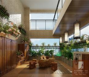 港式 南湖国际 阳台图片来自成都高度国际装饰娜娜在南湖国际139平米港式的分享
