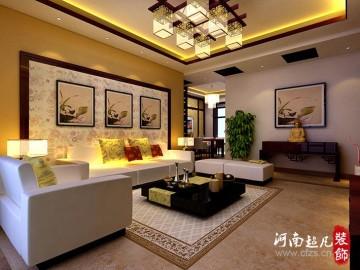 升龙国际现代中式装修实景案例