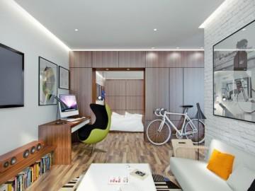 43平清新活力小公寓