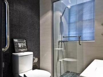 带来清爽气息的小户型卫浴装修