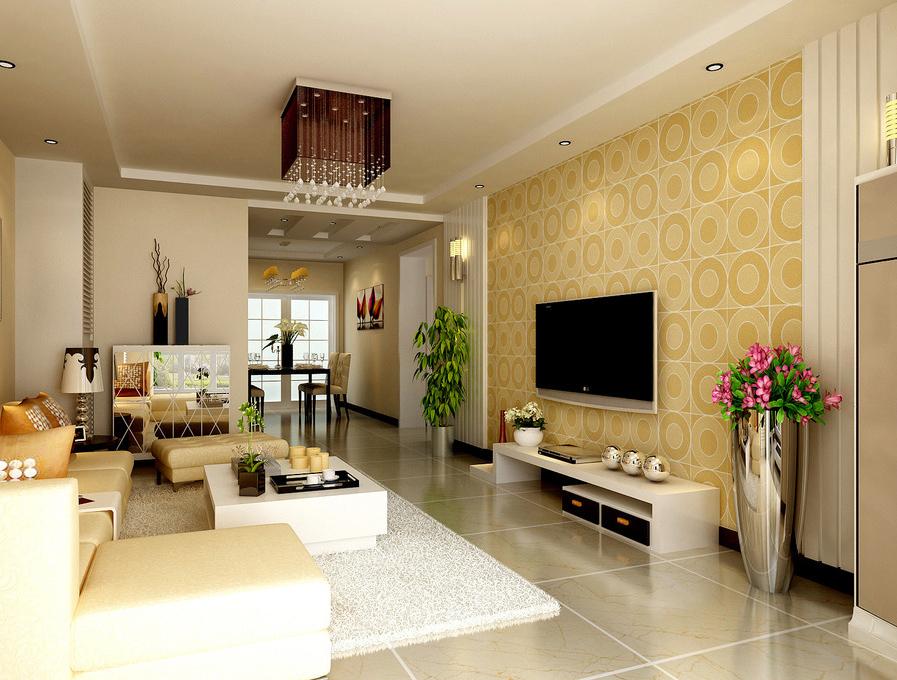 客厅图片来自半岛e家在二居室案例的分享