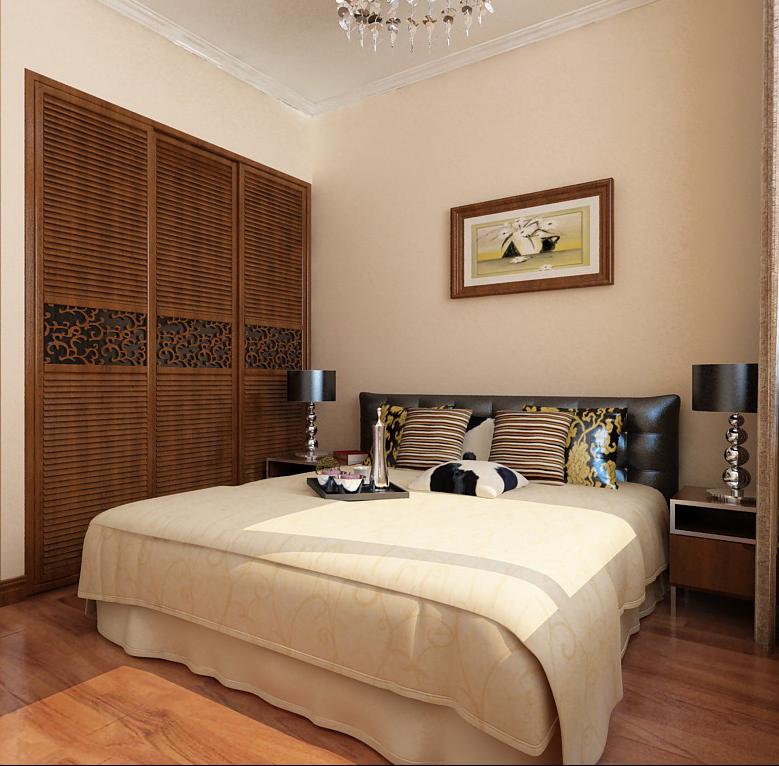 卧室图片来自半岛e家在二居室案例的分享