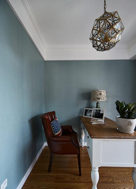 书房图片来自家装大管家在醇情玛奇朵 90平美式温馨雅居的分享