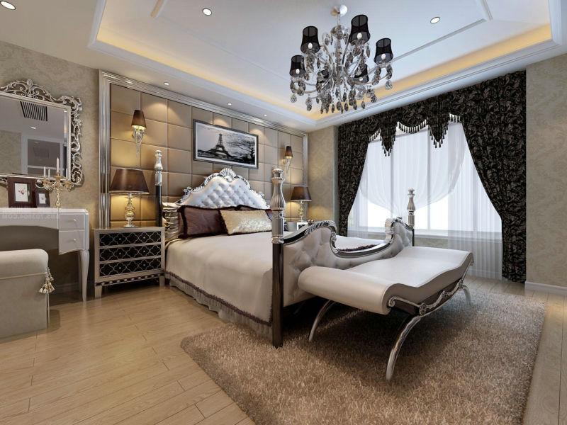 神仙树大院 200平米 新古典 平层 卧室图片来自cdxblzs在神仙树大院 200平米 新古典 平层的分享