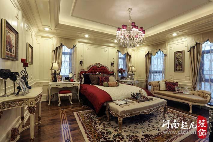 新古典欧式 龙泊圣地 超凡装饰 欧式 卧室图片来自超凡装饰邓赛威在龙泊圣地欧式新古典装修实景案例的分享