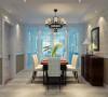 三居室-美式风格效果图