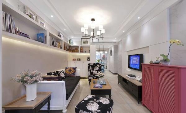 一个一家三口DIY的家,虽没有华丽整体划一的设计,但能感受到业主对生活的细心热爱,平淡也能很幸福~。合肥川豪装饰您幸福家的创造者。