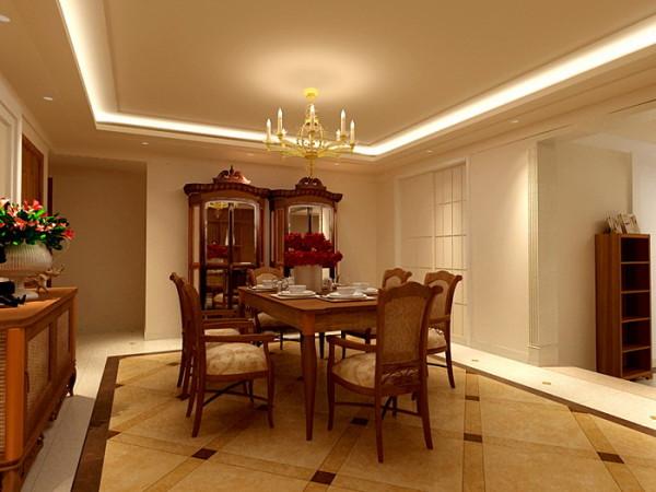 把在餐厅里主卧室的门移位,取而代之的是两组酒柜,把书房墙面改为推拉门,把光线引入进来;步入大厅的地面拼花,和温暖的藤制家具,是构成房间的基本要素,自然舒适之感扑面而来;主卫的玻璃墙体使空间穿透、明快。